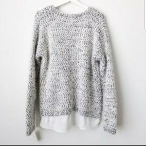 Gibson Latimer Sweaters - NWT Gibson Latimer Eyelash sweater